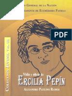 Vida y Obra de ercilia pepin Alejandro Paulino Ramos