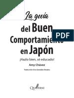 Avance La Guía Del Buen Comportamiento en Japón