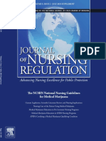 The NCSBN National Nursing Guidelines for Medical Marijuana JNR July 2018