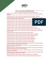 Substituições Automaticas Promotorias Mpgo