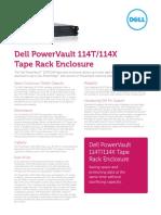 Ss665 Powervault 114t 114x Tape Rack Enclosure Es
