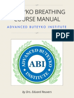 Buteyko Course Manual