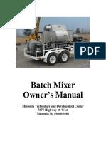 Batch Mixer Manual .docx