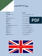 Preposições de Lugar (Inglês)