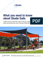 What you need to know about Shade Sails