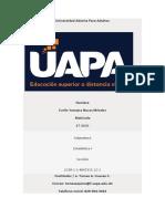 Estadística I-unidad I Universidad Abierta Para Adultos