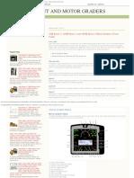 Cat Equipment and Motor Graders_ 12m Series 3, 140m Series 3 and 160m Series
