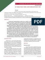 jurnal obgyn hubungan IMT dengan endometriosis
