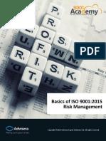 Basics of ISO 9001 Risk Management Process En