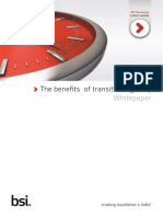 Benefits of Early Transition Whitepaper - FINAL July 2015
