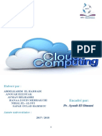 Rapport Du Cloud Computing