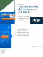 Gestion Eficiente Del Trabajo en La Era Digital Profesor Diego Martinez