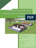 Catalogo de Mobiliario Urbano