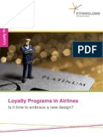 Airline Loyalty Programs is It Time to Embrace a New Design
