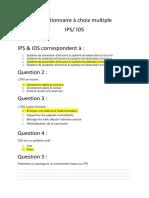 QCM IPS-IDS