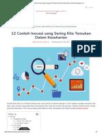 √ 12 Contoh Inovasi yang Sering Kita Temukan Dalam Keseharian _ DosenSosiologi.Com
