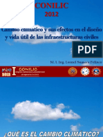 Cambio Climatico y Las Estructuras