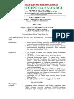 SK Pembagian Tugas Tutor Paket B 2018