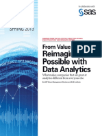 Reimagining the Possible With Data Analytics