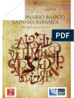 [Biblioteca Nueva Sefarad III] Pascual Pascual Recuero - Diccionario Básico Ladino-español (1977, Ameller)