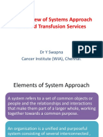 Systems Approach to BTS
