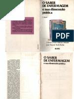 ALMEIDA, M. C. P.; ROCHA, J. S. Y. - O Saber Da Enfermagem e Sua Dimensão Prática 2a Ed