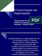 A Comunicacao Nas Organizacoes Kunsch