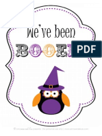 We've Been Booed - by anna and blue paperie