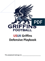 Griffins Defensive Playbook Amsterdam 2011