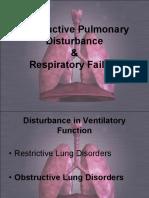 Obstructive Pulmonary Disturbance and Respiratory Failure Nu