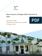 2019 Budget Features