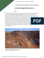 As Normas Técnicas Obrigatórias Para a Mineração – Revista AdNormas