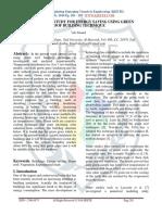 Experimental Study for Energy Saving Usi