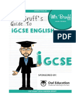 Mr Bruffs Guide to IGCSE English