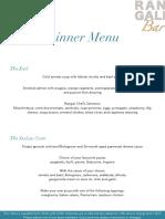 En MLEHICI Rangali Bar Dinner Menu Jul 2015