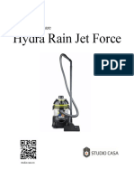 Manual de Utilizare Hydra Rain Jet Force 112