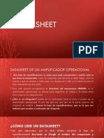 Datasheet de Amplificador Operacional