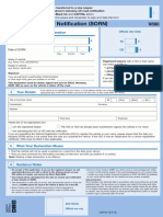 v890 Make a Statutory Off Road Notification