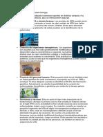 Aportaciones de La Biotecnología