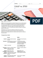 GAAP vs IFRS - Difference and Comparison | Diffen