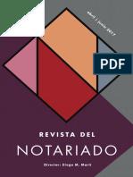 Revista del Notariado - Junio 2017