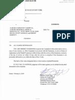 Second Auburn hospital lawsuit