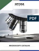 OPTIKA Microscopy Catalog