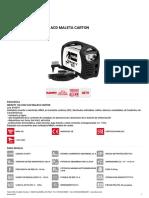 816079 s Infinity 150 230v Acd Maleta Carton