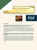 Boletín Jurisprudencial n.º 1 de 2019 - Sala de Casación Laboral