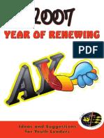 Year of Renewing Starter Kit, 2007