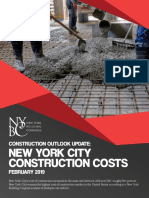NYC Construction Costs