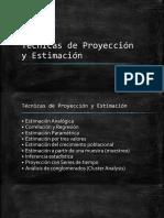 0.3. Técnicas de Proyección y Estimación