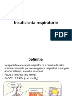 Insuficienta respiratorie - scurt