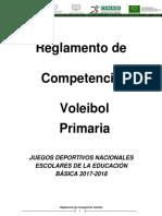 Primaria VOLEIBOL Reglamento